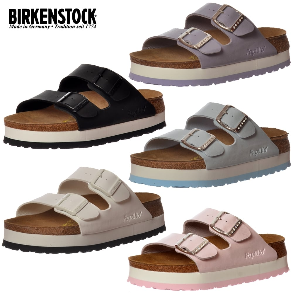 31e690a679 Papillio Birkenstock Arizona Wedge Platform Standard Fitting Flip ...