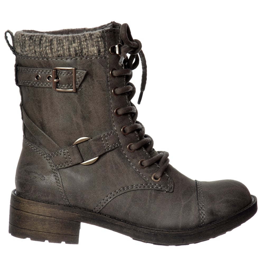 womens rocket thunder lace up buckles ankle