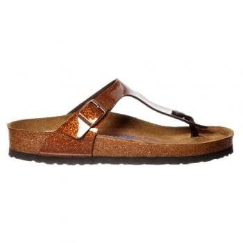 Birkenstock Gizeh Magic Galaxy BirkoFlor -Standard Fitting Buckled Toe Post Thong Style - Flip Flop Sandal