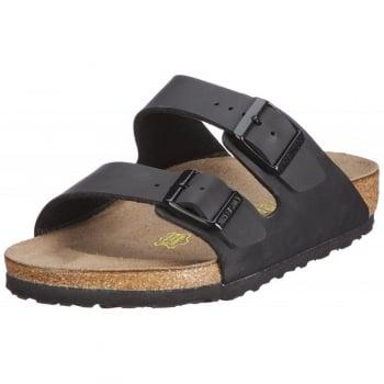 Birkenstock Mens Arizona Birkoflor - Standard Fitting Classic Buckled Two Strap - Flip Flop Sandal
