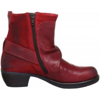 Fly London Mel Low Heel Ankle Boot