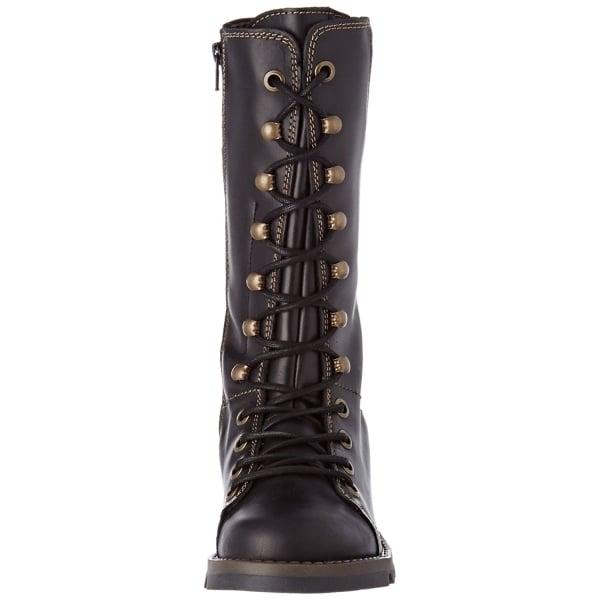 Fly London Selu526FLY Purple Womens Stylish Comfort Knee High Boots