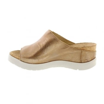Fly London Wigg672 Slip On Wedge Mules