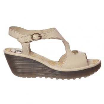 Fly London Yanca Summer Dress Sandal -  OffWhite