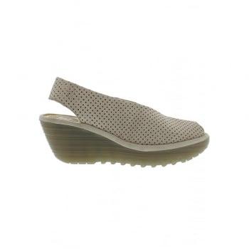 Fly London Yazu735 Peep Toe Slingback Shoe