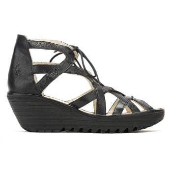 Fly London YELI 719 FLY Lace Up Wedge Sandal