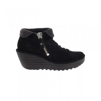 Fly London Yoxi755 Cuffed Collar Ankle Boot