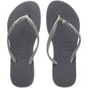 Slim Crystal Glamour Swarovski Flat Flip Flop