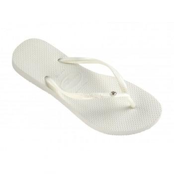 Havaianas Slim Crystal Glamour Swarovski Flat Flip Flop