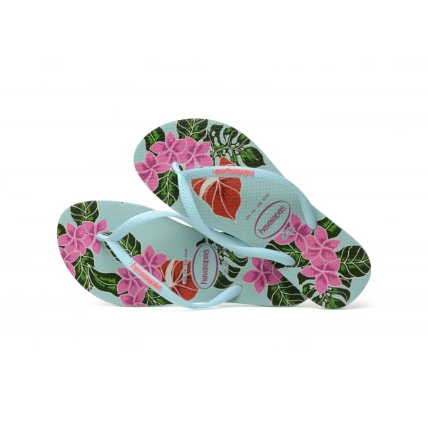 f68522e5d77ae5 Havaianas Slim Floral Flat Flip Flop - Havaianas from ShoeKandi UK