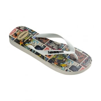 Havaianas Star Wars - Flat Flip Flop Beach Shoe - White