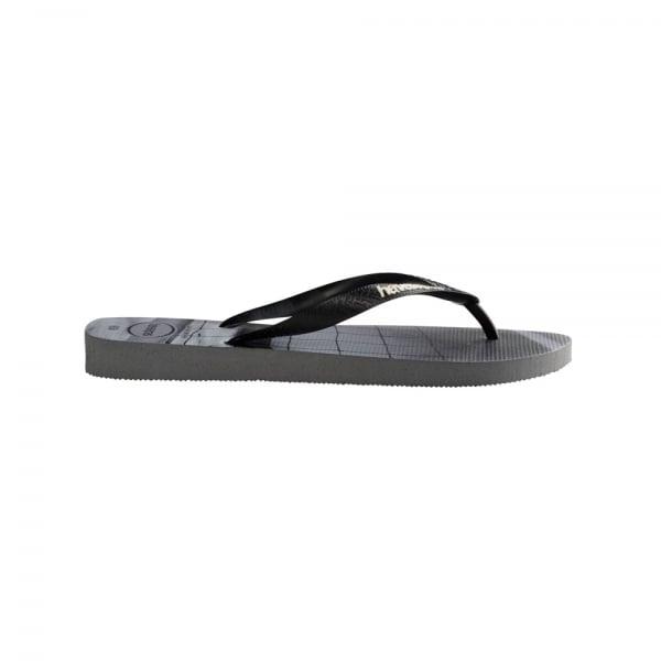 93ee6490994194 Havaianas Unisex Mens Boys Hype Flat Flip Flops - Steel Grey. ‹ View All  Havaianas  ‹ ...