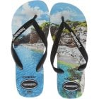 Unisex Mens Boys Top Photo Print Flat Flip Flops