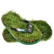 Mens Funky Grass  - Flip Flops - Flip Flops with a Green Twist