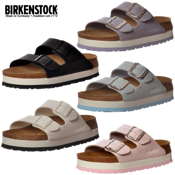 birkenstock papillio by birkenstock arizona wedge platform. Black Bedroom Furniture Sets. Home Design Ideas