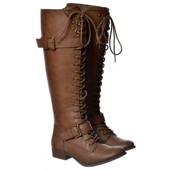 Rocket Dog Beany Lace Up Combat Boots