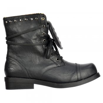 Rocket Dog Brutus Ankle Boots - Studded - Porter Black / Tan