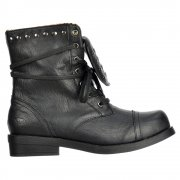 Brutus Ankle Boots - Studded - Porter Black / Tan