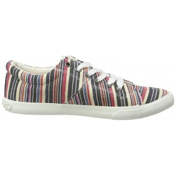 Rocket Dog Campo Canvas Flat Lace UP Plimsolls