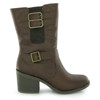 Rocket Dog Dayton Heeled Casual Ankle Boot