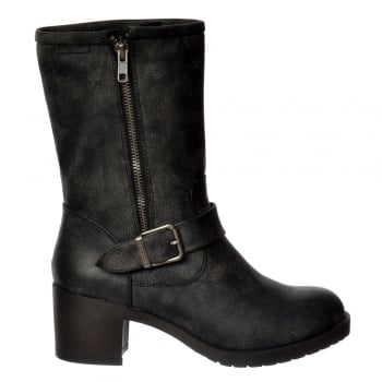 Rocket Dog Hallie Galaxy Mid Calf Boots - Black, Brown