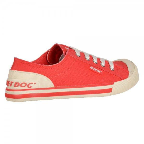 e6b7468d5e89 Rocket Dog Jazzin - Canvass Flat Lace Up Deck Shoes - Navy