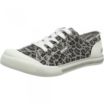 Rocket Dog Jazzin - Canvass Flat Lace Up Trainers