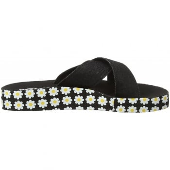 Rocket Dog Moon Criss Cross Slide Flat Sandals