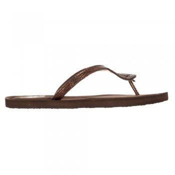Rocket Dog Oralee Serpentine - Flip Flops - Black, Bronze