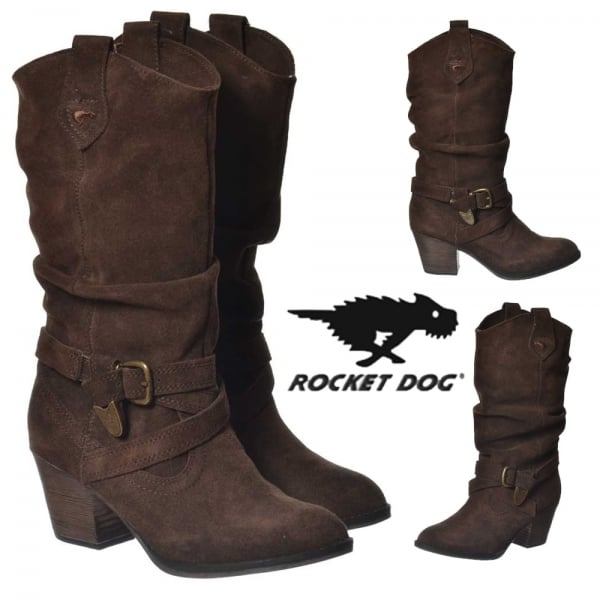d7f6108da8c Rocket Dog Rocket Dog Sidestep Cow Suede Dark Brown - Rocket Dog ...