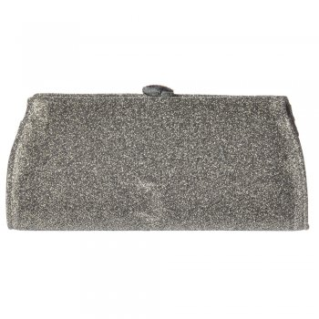 60c34de28b37 Shoekandi Evening Clutch Handbag Purse - Shiny Glitter Diamante Detail - Gold  Glitter