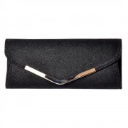 Evening Clutch Purse Handbag - Sparkly - Gold, Silver, Black