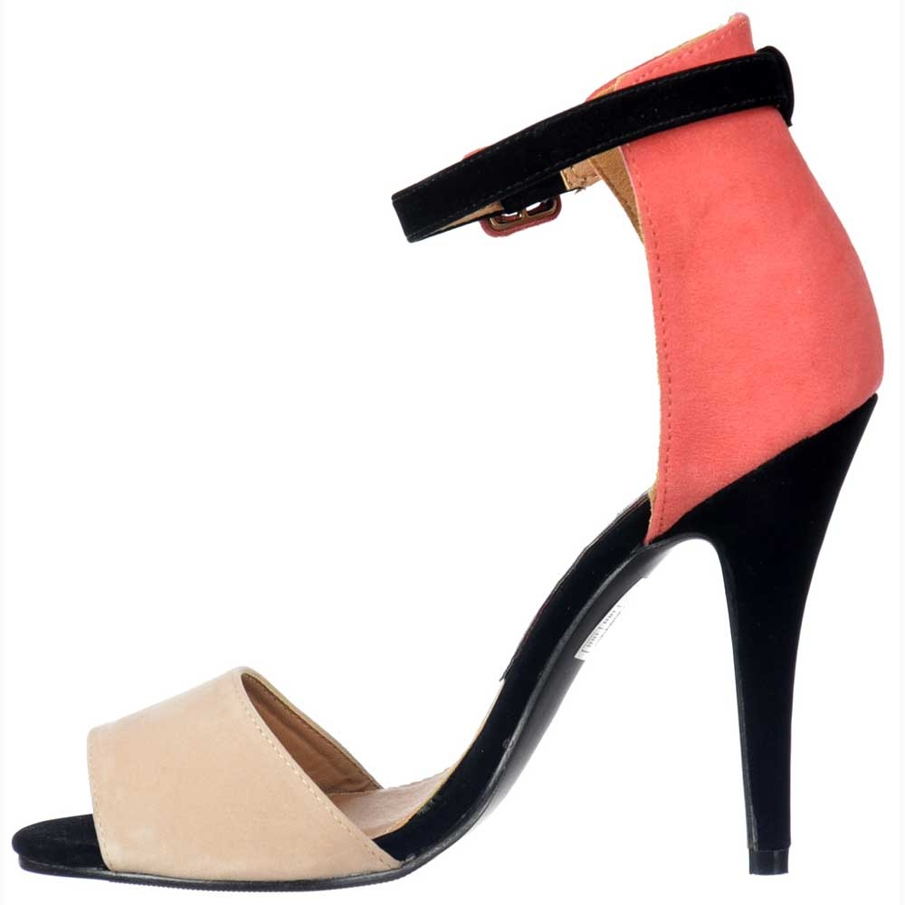 Black And Nude Heels - Is Heel