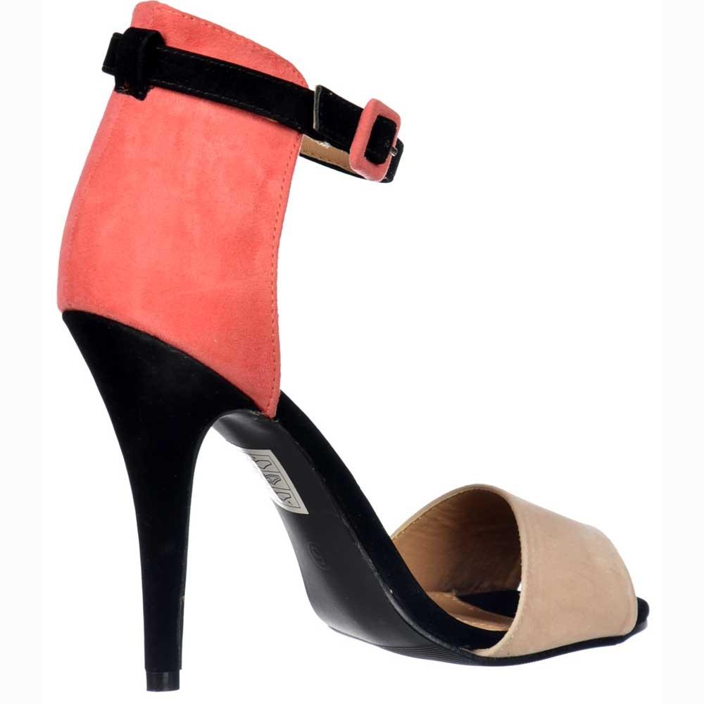 Black sandals mid heel uk - Strappy Mid Heels