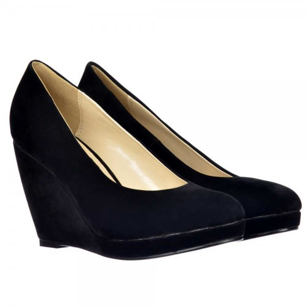 Size Black Mid Heel Wedge Womens with FREE Shipping & Exchanges, and a % price guarantee. Choose from a huge selection of Size Black Mid Heel Wedge Womens styles.