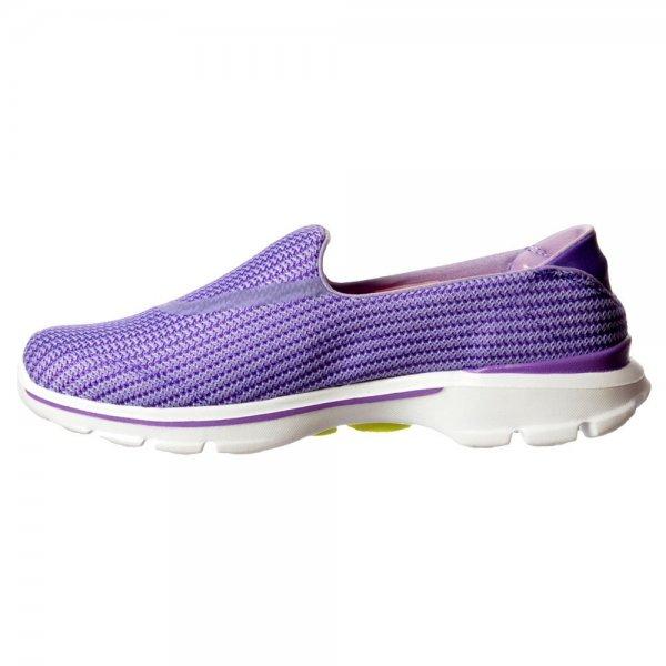 sports shoes 9e0ce 83abc Skechers Go Walk 3 Performance Division Memory Foam Walking Shoes - Navy   Light  Blue, Purple, Black - Skechers from ShoeKandi UK
